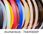solid color or wood grain pvc... | Shutterstock . vector #766456069