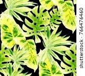 watercolor seamless pattern... | Shutterstock . vector #766476460