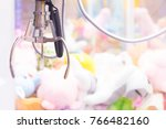 claw game or cabinet catches... | Shutterstock . vector #766482160