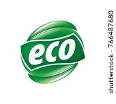 logo vector eco | Shutterstock .eps vector #766487680