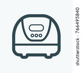 slow cooker vector icon   Shutterstock .eps vector #766495840