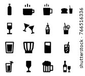 origami style icon set   water... | Shutterstock .eps vector #766516336