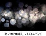 blurred bokeh light background