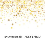 gold sparkling background with... | Shutterstock .eps vector #766517830