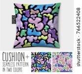 design vector pillow  cushion . ...   Shutterstock .eps vector #766522408