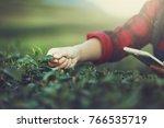 Farmer Tea Plantation Checking...