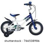 monstertruck blue bik | Shutterstock . vector #766538986