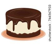pudding vector.    Shutterstock .eps vector #766567933