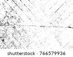 grunge black and white pattern. ... | Shutterstock . vector #766579936