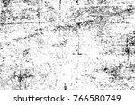 grunge black and white pattern. ... | Shutterstock . vector #766580749