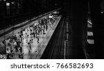 tokyo   august 13  2016  people ... | Shutterstock . vector #766582693