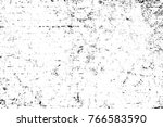 grunge black and white pattern. ... | Shutterstock . vector #766583590