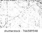 grunge black and white pattern. ... | Shutterstock . vector #766589548