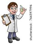 A Cartoon Scientist Professor...