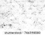 grunge black and white pattern. ... | Shutterstock . vector #766598080