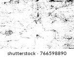 grunge black and white pattern. ... | Shutterstock . vector #766598890
