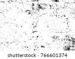grunge black and white pattern. ... | Shutterstock . vector #766601374