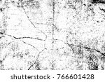 grunge black and white pattern. ... | Shutterstock . vector #766601428