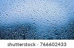 Raindrops On Window Glass...