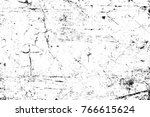 grunge black and white pattern. ... | Shutterstock . vector #766615624