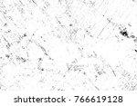 grunge black and white pattern. ... | Shutterstock . vector #766619128