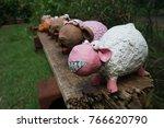 More Sheep Pottery