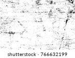 grunge black and white pattern. ... | Shutterstock . vector #766632199