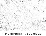 grunge black and white pattern. ... | Shutterstock . vector #766635820