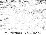 grunge black and white pattern. ... | Shutterstock . vector #766646560