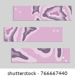 abstract banner template with... | Shutterstock .eps vector #766667440
