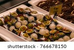 tapas of olives  peppers ... | Shutterstock . vector #766678150