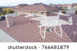 unmanned aircraft system  uav ... | Shutterstock . vector #766681879