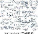 design elements | Shutterstock .eps vector #76670950