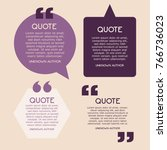 creative quotes  text template  ... | Shutterstock .eps vector #766736023