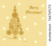 element of design. festive... | Shutterstock .eps vector #766769173