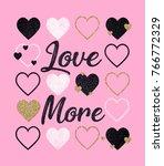 shiny slogan graphic | Shutterstock . vector #766772329