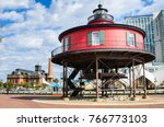 view of the historic sevent... | Shutterstock . vector #766773103