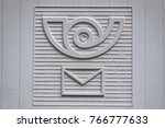 detail from a mail box | Shutterstock . vector #766777633