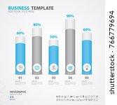 infographics elements diagram... | Shutterstock .eps vector #766779694