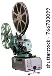 a movie projector is an opto...   Shutterstock . vector #766783099