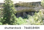 ancient cliff dwellings at mesa ... | Shutterstock . vector #766818484