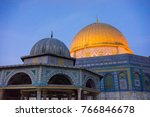 baitulmuqaddis  palestine  ... | Shutterstock . vector #766846678