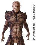3d illustration alien monster... | Shutterstock . vector #766850590