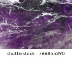 amethyst textures gemstone... | Shutterstock . vector #766855390