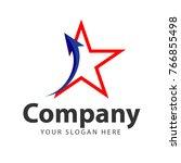 company logo vector template...   Shutterstock .eps vector #766855498