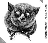 black and white engrave... | Shutterstock .eps vector #766875328