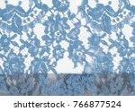 texture lace fabric. lace on... | Shutterstock . vector #766877524