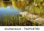 Rustic Wooden Old Bridge....