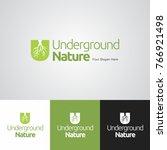underground nature logo design... | Shutterstock .eps vector #766921498