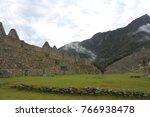 machu picchi ruins peru | Shutterstock . vector #766938478